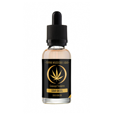 30ml bottle of canavape sour diesel