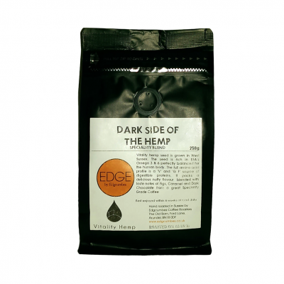 Dark side of the hemp coffee