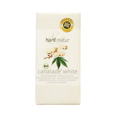 Hanf Natur white canalade chocolate