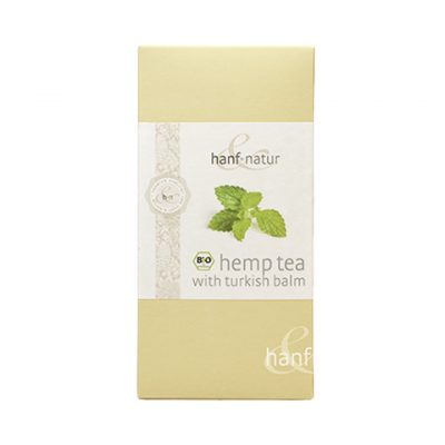 Hemp tea bags turkish balm