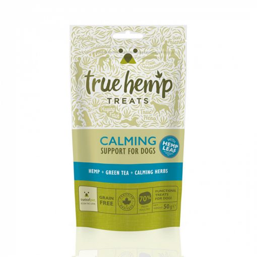 Calming dog treats from true hemp