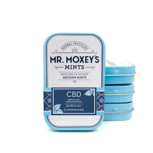 mr moxeys cbd infused mints