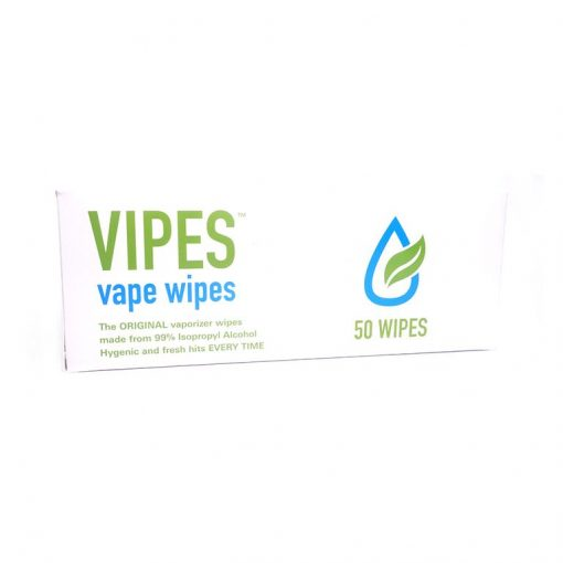 iso soaked vape wipes
